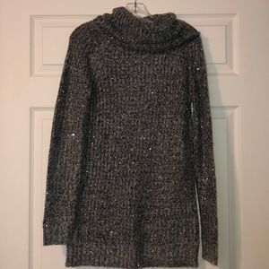 Mossimo Cowl-neck Sequin Sweater